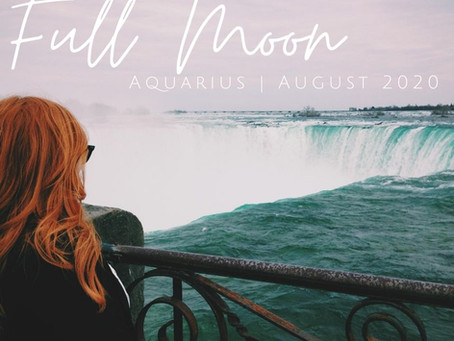 Full Moon in Aquarius August 2020: Flexibility and Flow