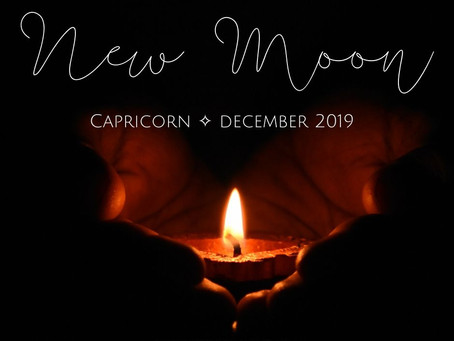 New Moon in Capricorn December 2019 - the Art of Cocooning