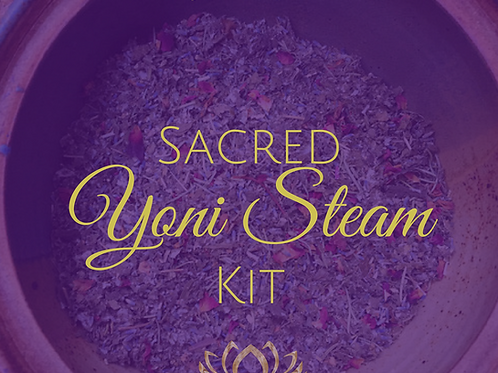 Vaginal Steam Organic Herbal Kit