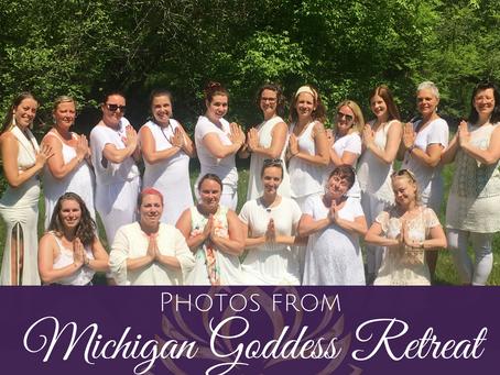 Photos from Michigan Goddess Retreat May 24-27, 2018
