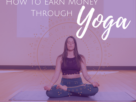 How to Make Money Teaching Yoga {what your YTT probably didn't teach you!}