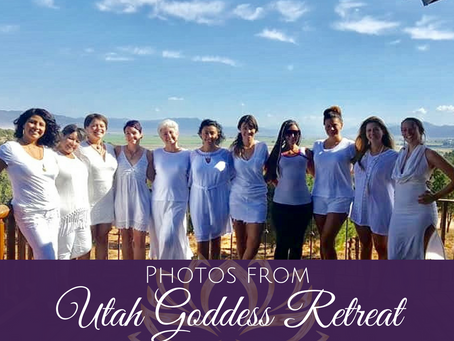 Photos from Utah Goddess Retreat August 2018