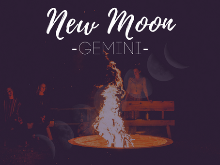 New Moon in Gemini June 2019 - Growth and Grounding