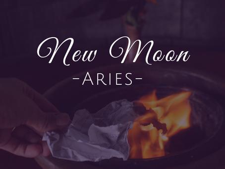 New Moon in Aries April 2019 - Break Free
