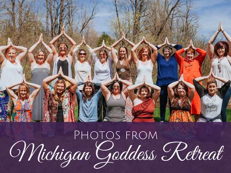 Photos from Michigan Goddess Retreat May 10-13, 2018