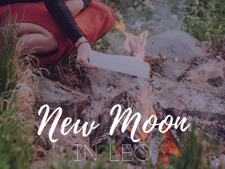 Black Supermoon New Moon in Leo - Remember Who You Are