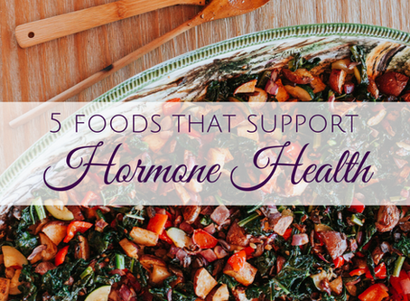 Balance Your Hormones With These 5 Foods