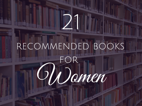 21 Recommended Books for Women
