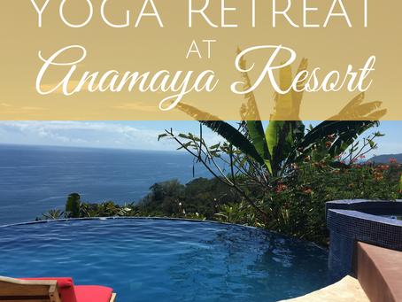 Exciting Announcement: Teaching at Anamaya Resort November 2018!