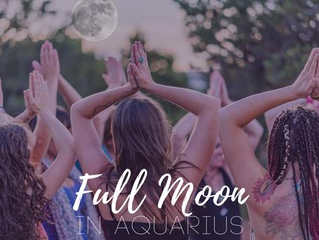 Full Moon in Aquarius August 2019 - Embodying Pleasure
