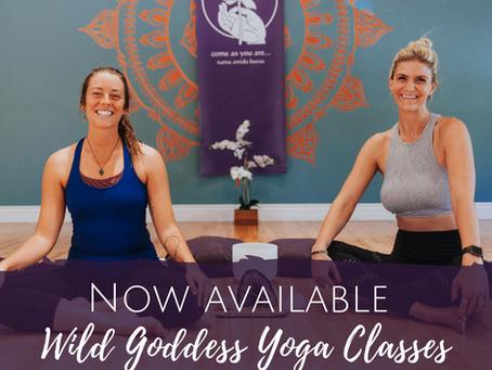 Wild Goddess Yoga Online Classes for Women