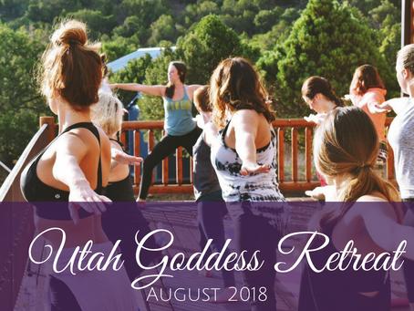 Utah Women's Yoga Retreat August 2018