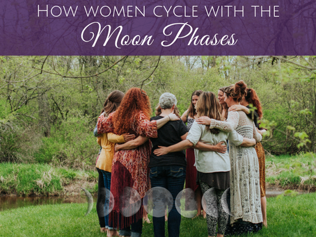 How Women Cycle With the Moon Phases