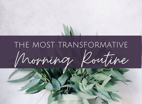 A Transformative Morning Routine to Ground and Calm You