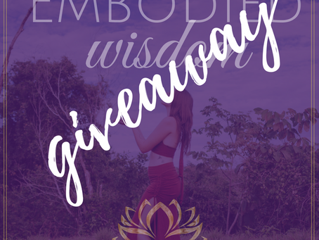 Enter to Win a Free Spot in the Embodied Wisdom Sacred Online Training!