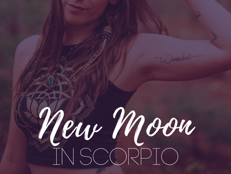 New Moon in Scorpio October 2019 - It's Witch O'Clock