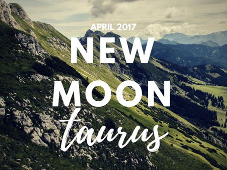 New Moon in Taurus April 2017