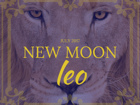 New Moon in Leo July 2017 | releasing self doubt |