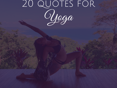 20 Empowering Quotes to Use In Yoga Classes