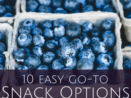 10 Healthy Snack Ideas for Travel and Life on the Road