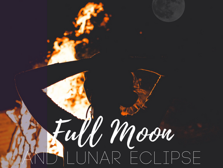 Full Moon in Capricorn and Lunar Eclipse July 2019 - Duality and Deep Diving
