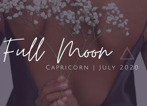 Full Moon in Capricorn July 2020: Evolving through Releasing