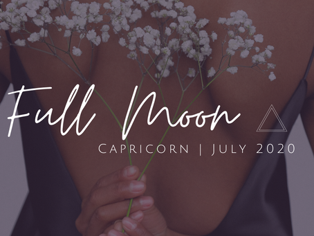 Full Moon in Capricorn July 2020: Evolving through Releasing