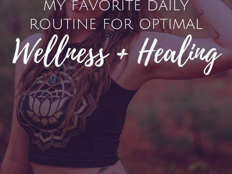 My Favorite Daily Routine for Optimal Happiness and Spiritual Growth