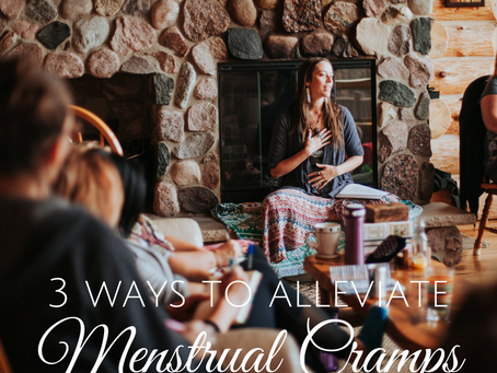 3 Ways to Naturally Alleviate Menstrual Cramps