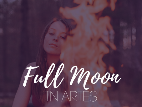 Full Moon in Aries October 2019 - the Bonfire