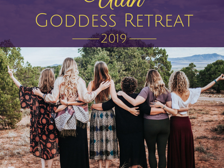 Announcing the August 2019 Utah Goddess Retreat