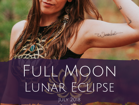 Full Moon in Aquarius and Lunar Eclipse July 2018 - Change is Inevitable