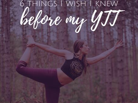 6 Things I Wish I Knew Before My Yoga Teacher Training