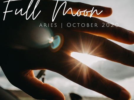 Full Moon in Aries October 2020: Sovereignty and Wholeness