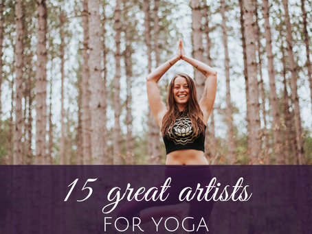 15 Great Go-To Musicians for Yoga Classes