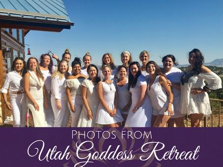 Photos from Utah Goddess Retreat June 2018