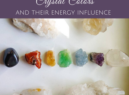 Crystal Colors and their Energy Influence