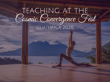 Cassandra Wilder Teaching at Cosmic Convergence in Guatemala