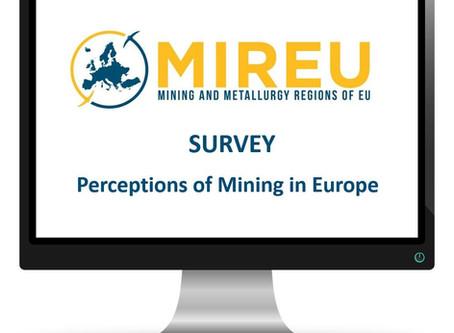 Badania na temat postrzegania górnictwa w Europie w ramach projektu MIREU