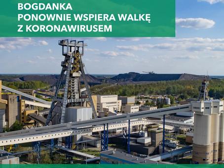 LW Bogdanka przekazuje środki na walkę z koronawirusem