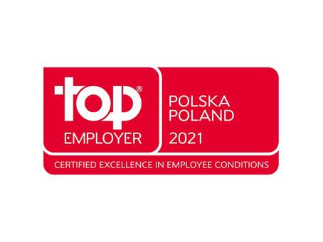 Provident Polska po raz kolejny wyróżniony certyfikatem Międzynarodowego Instytutu Top Employers