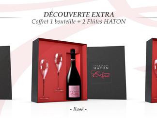 J-5 ... Offrez-vous pour la Saint-Valentin un coffret Champagne Haton