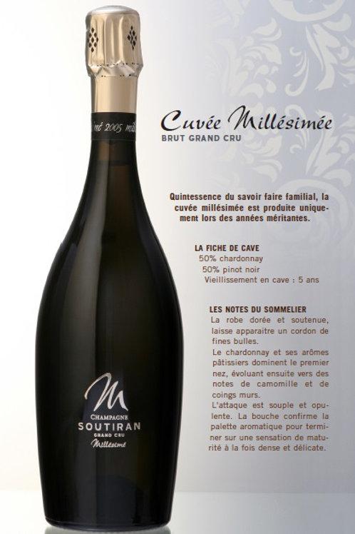 Soutiran - Cuvée Millésimée 2011 -  Grand Cru brut - 75 cl -