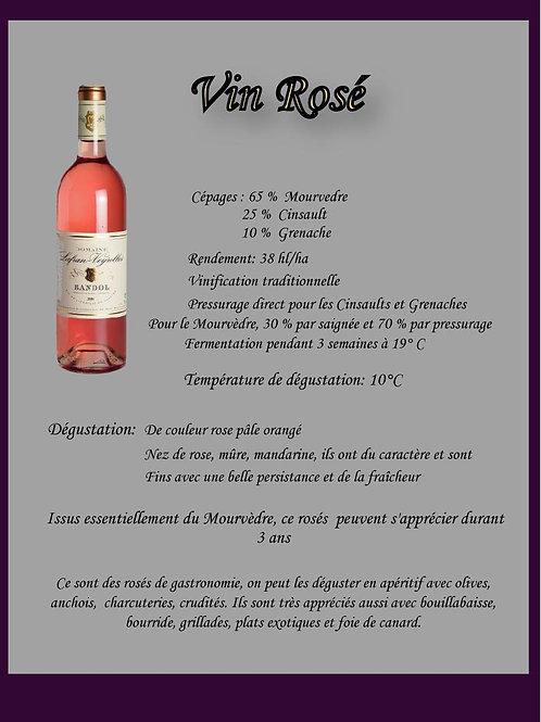 Rosé Bio Lafran-Veyrolles - 150 cl