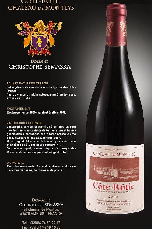 Côte Rotie - Château de Mont-Lys - 75 cl