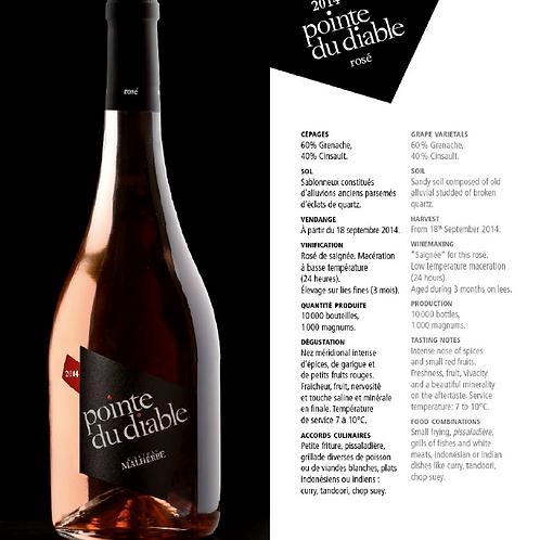 La pointe du Diable - (Malherbe) - Rosé - 150 cl