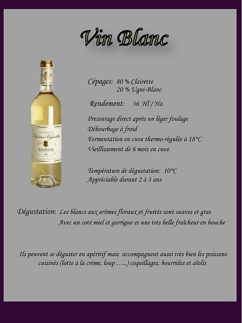 Blanc Bio Lafran-Veyrolles - 50 cl