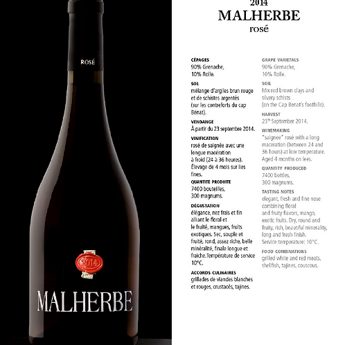 Malherbe - Rosé - 150 cl