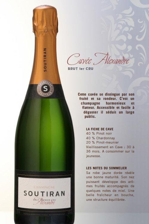 Soutiran - Cuvée Alexandre - 1er Cru brut - 75 cl -