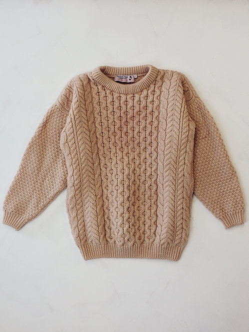 Plant Dyed Wool Jumper